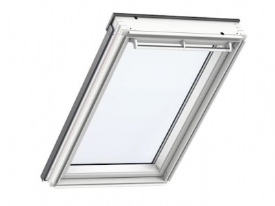 Velux White Roof Window Closed Internal View