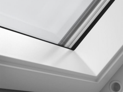 Velux White Roof Window Close Up