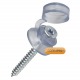 Corrapol Clear 50mm Fixings