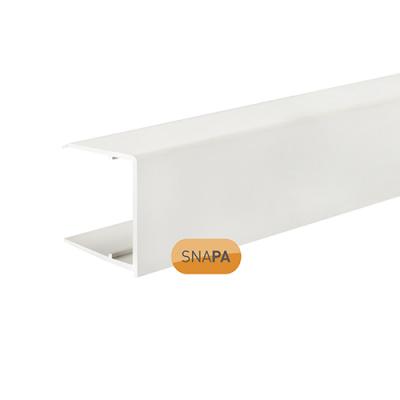Snapa 25mm PVC Drip Trim White 2.1m