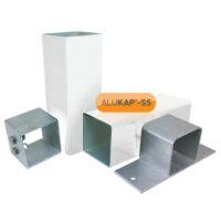 Alukap-SS Complete Post & Bracket kit 3.0m