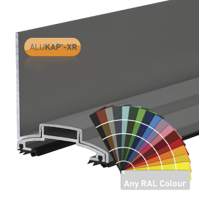 Alukap-XR 60mm Wall Bar No RG Alu E/Cap
