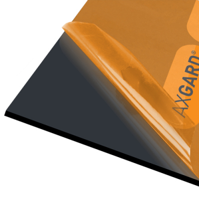 Axgard Black 6mm UV Prtc Polycarb