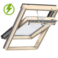 Velux Pine Centre Pivot INTEGRA Electric Roof Window