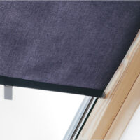 Roller Blind Blue Close Up
