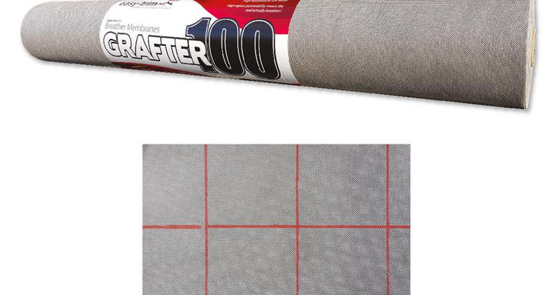 Easytrim Grafter Breather Membrane