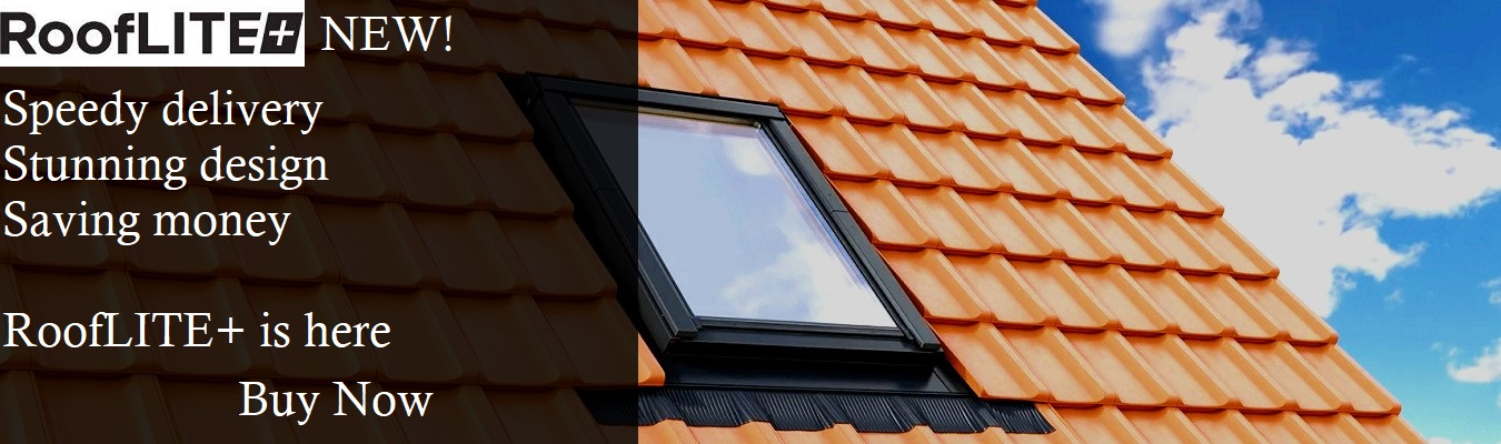 RoofLITE Banner - RoofLITE Roof Window, Tile Flashing on Tile Roof