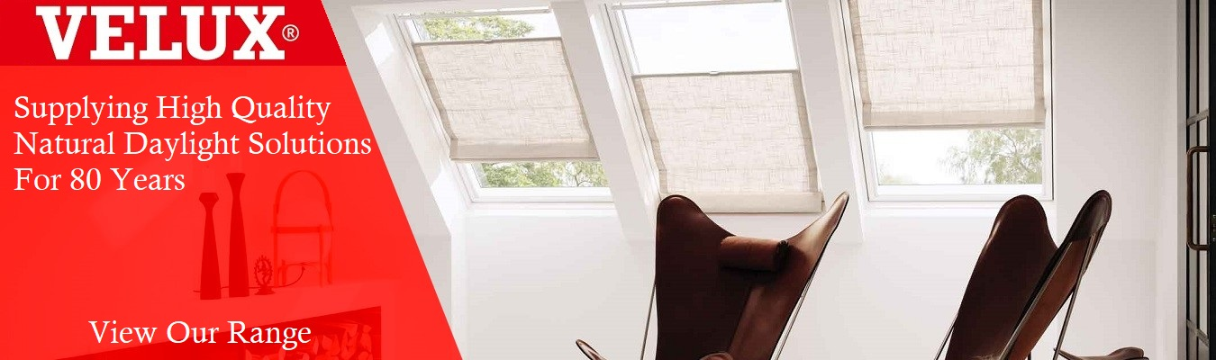 Velux Banner - Velux Roof Windows and Blinds