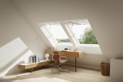Velux Top Hung INTEGRA Polyurethane Roof Window Internal
