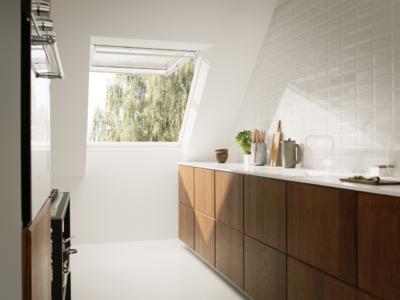 Velux Top Hung Polyurathane Roof Window Bathroom