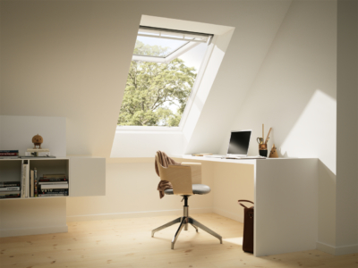 Velux White Painted Top Hung Roof Window Office