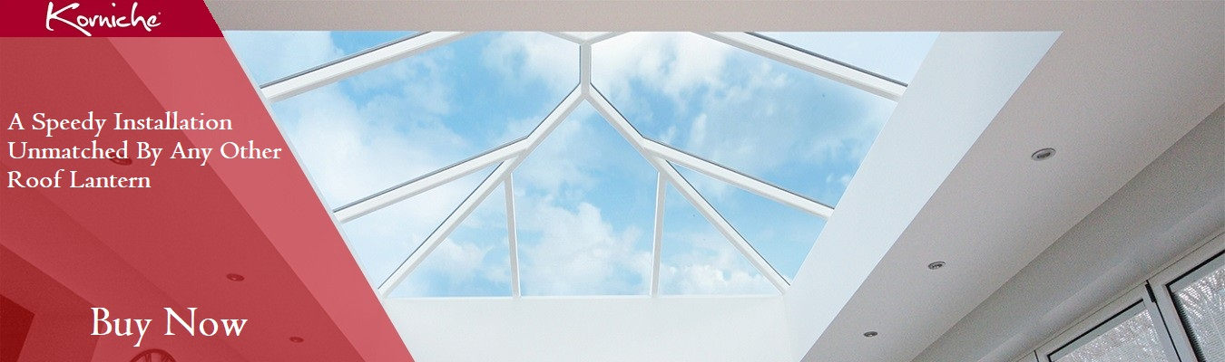 Korniche Roof Lantern Banner - Interval View of Korniche Roof Lantern