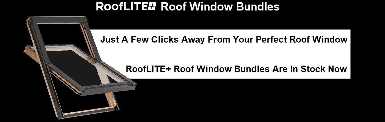 RoofLITE++ Roof Window Bundle Banner