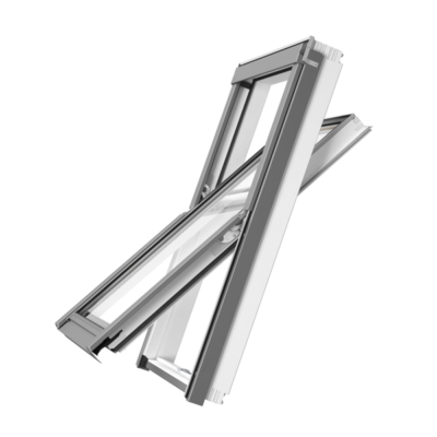 RoofLITE+ SOLID WHITE Roof Window Bundle