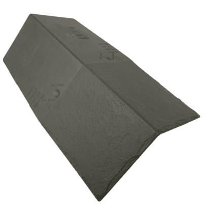 Britmet LiteSlate Synthetic Slate Tile Ridge - Ash