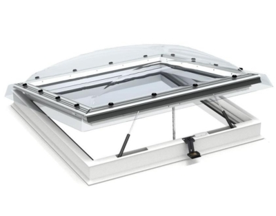 velux integra electric flat roof dome