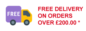 free delivery over £200